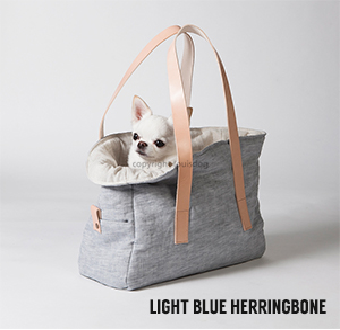 Safe Linen Bag in Grey