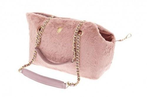 Luxurious Pink Dog Bag