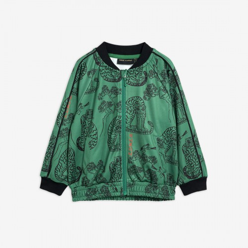 Cute Tiger Jacket in Green