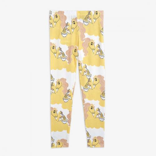 Comfy Leggings with Unicorn Print
