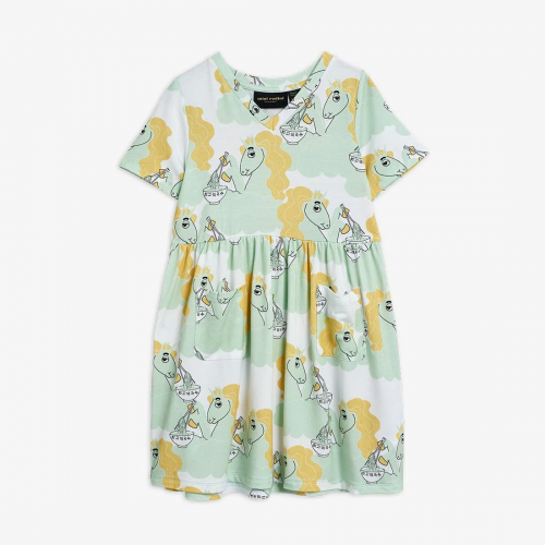 Unicorn Short Sleeve Dress