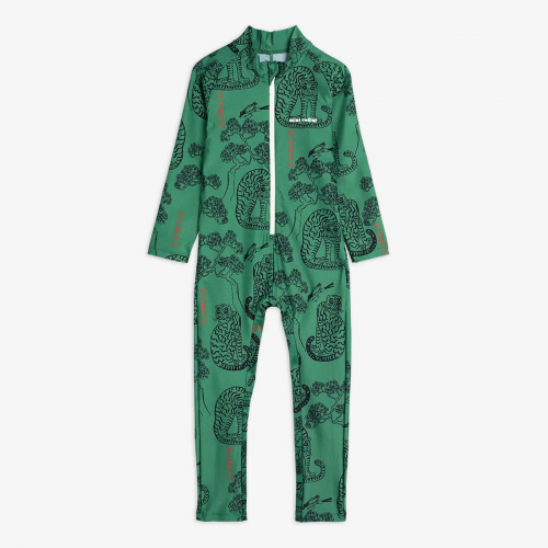 Protective Tiger Uv Suit in Green