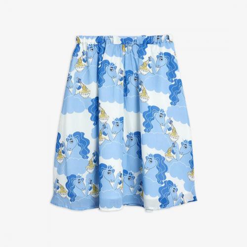 Soft Woven Long Skirt