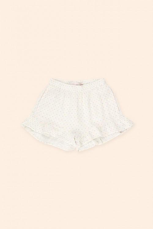 Light Summer Short in White