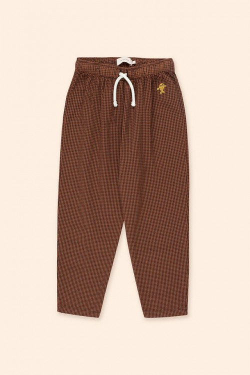Cinnamon and Ink Blue Check Pant