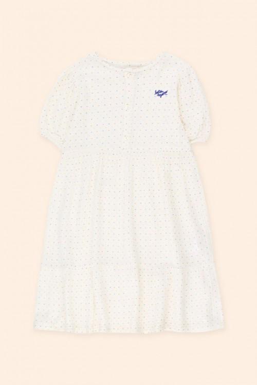Delicate Off White Dress