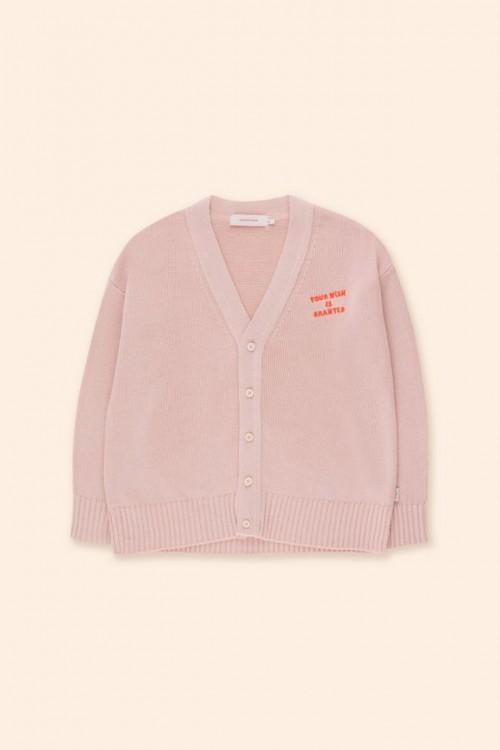 Classic Shape Cardigan in Dusty Pink